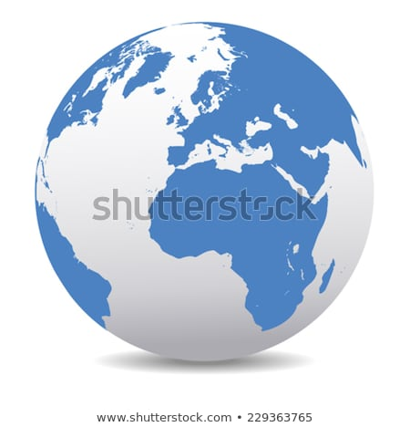 Middle East, Russia, Europe, and Africa, Global World Stock photo © fenton