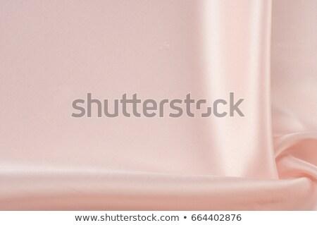 ярко розовый шелковые ткань волна полный Сток-фото © zven0
