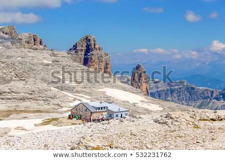 Dolomiti - Forcella Sass Pordoi Stock photo © Antonio-S