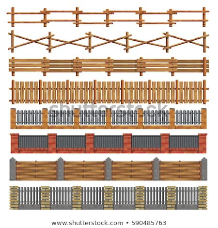 different design of fences stock photo © bluering