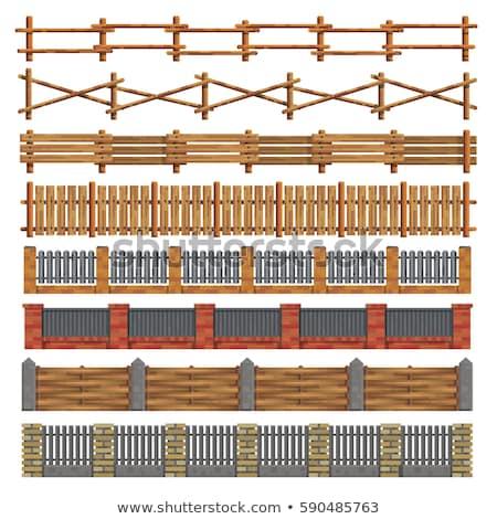 ゲート · 鉄 · デザイン · 金属 · 黒 - ストックフォト © bluering