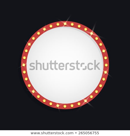 Lightning round template background. EPS 10 Stock photo © beholdereye
