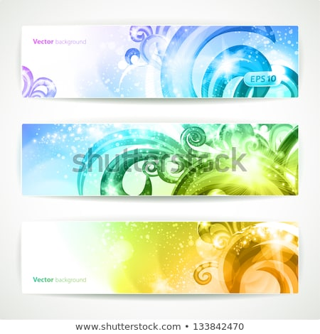 abstract artistic rainbow discount card Stock photo © pathakdesigner