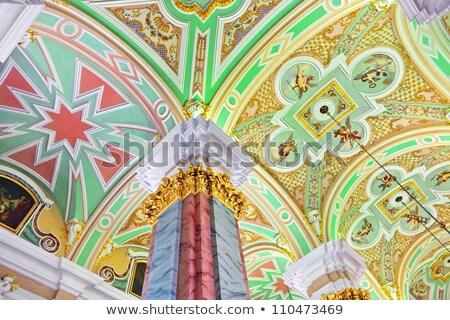 Церкви интерьер искусства Иисус путешествия Сток-фото © RuslanOmega