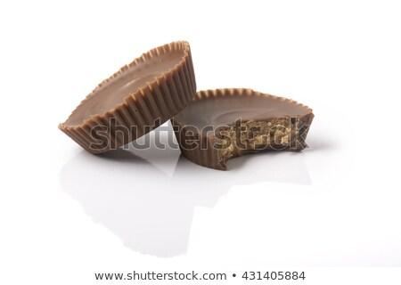 2 · ピーナッツバター · カップ · かむ · チョコレート · 1 - ストックフォト © icemanj
