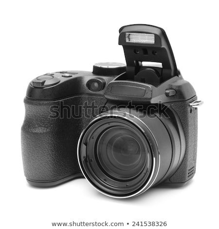 Modern digital reflex camera Stock photo © tilo