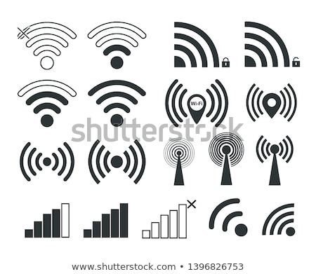 Wifi sans fil distribution internet technologie données Photo stock © Lightsource