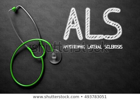 3D · renderelt · kép · illusztráció · neuronok · orvosi · hálózat - stock fotó © tashatuvango