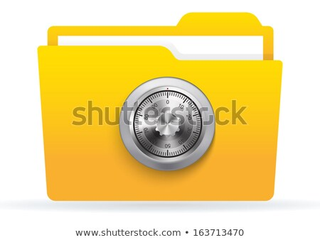 Combination lock vector illustration clip-art image eps Stock photo © vectorworks51