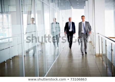 man walking on railing Stock photo © IS2