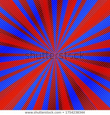 синий комического линия полутоновой книга аннотация Сток-фото © SArts