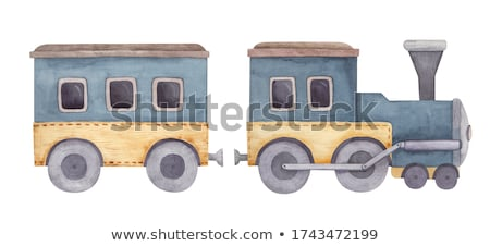 train clipart stock photo © darkves
