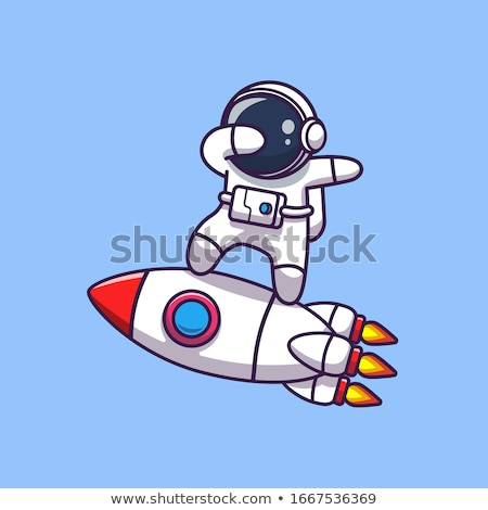 Mascottes planeet astronomie mascotte illustratie zon Stockfoto © lenm