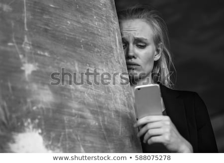 extremely depressed crying and distraught person stock photo © stevanovicigor