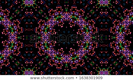 Kaleidoscope geometric colorful pattern. Abstract background Stock photo © FoxysGraphic