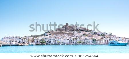 パノラマ · 画像 · 町 · スペイン · ヨーロッパ · 家 - ストックフォト © Enjoylife