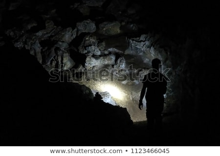 謎 暗い 洞窟 実例 抽象的な ストックフォト © bluering
