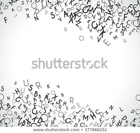 заклинание английский слово книгах иллюстрация школы Сток-фото © bluering