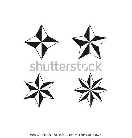 Champion Trophy with Stars Monochrome Logotype Stock photo © robuart