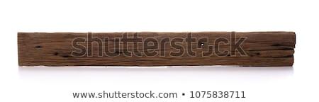 ストックフォト: 木製 · 古い · ボード · グレー · ラフ · 水平な