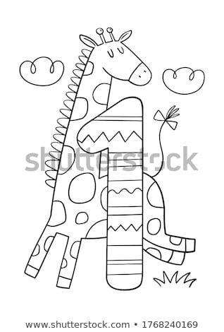 educational alphabet letters coloring book Stock photo © izakowski