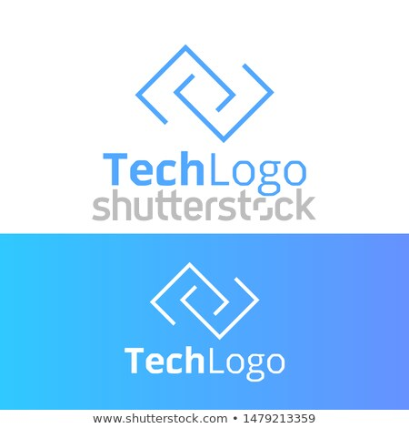 DNA icon vector. Modern simple flat dna sign in futuristic circle. Business, internet concept. Trend Stock photo © kyryloff
