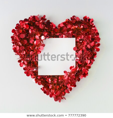 partícula · corazón · rojo · excelente · eps · 10 - foto stock © sarts