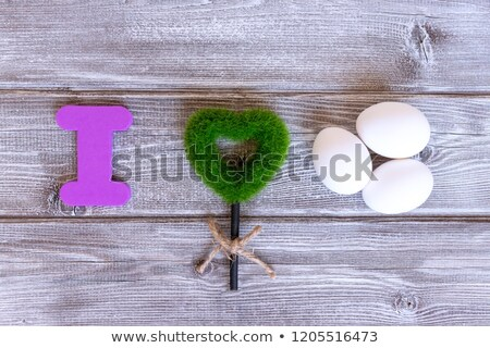 Easter holiday letter U  Stock photo © grafvision