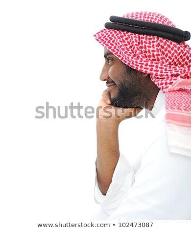 Foto stock: Imagem · otimista · árabe · homem · 30s · negócio