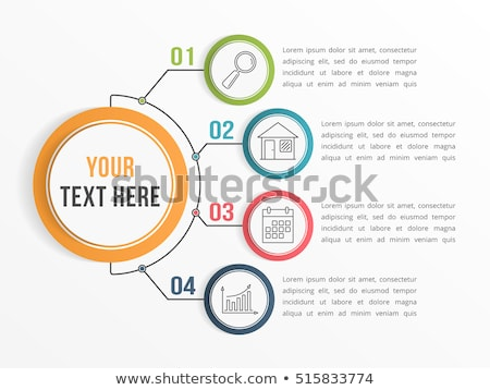 Communicatie stroomschema netwerken business gemengd media Stockfoto © alexaldo