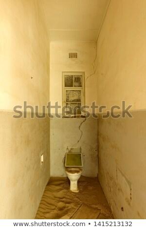 ванную · здании · Намибия · окрашенный · стен - Сток-фото © emiddelkoop