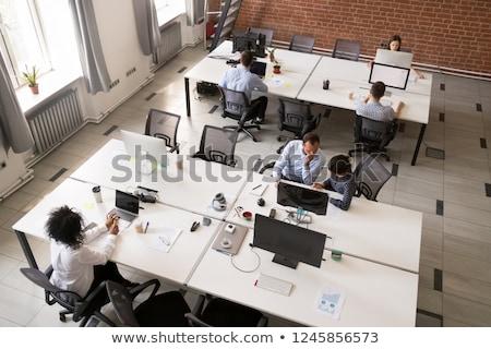 Commune démarrage collègues homme présentation Photo stock © jossdiim