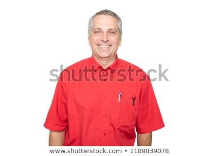 портрет зрелый человек автозапчасти магазине продавец студию Сток-фото © Lopolo