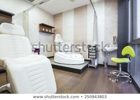 косметических Spa центр интерьер оборудование Cartoon Сток-фото © robuart