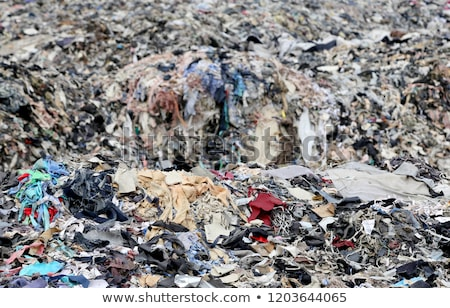 Textile waste a major polluter in Southeast Asia Stock photo © bdspn