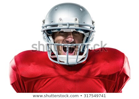 Offended aggressive young sportsman look frustrated and angry, was accused something ridiculous, poi Stock photo © benzoix
