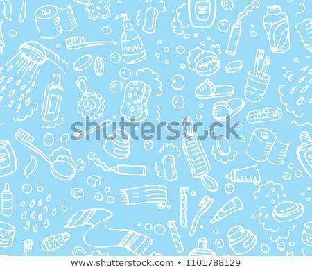 Foto stock: Banheiro · vetor · gráficos