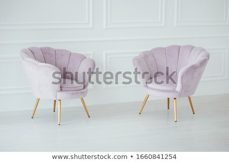 Belle confortable rose stand spacieux chambre Photo stock © ruslanshramko