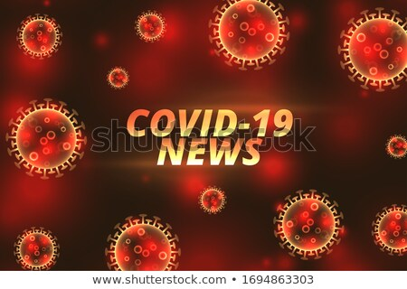 Coronavirus nieuws banner virus gezondheid Stockfoto © SArts