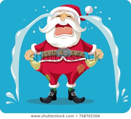 Bankrupt Santa Claus Stock photo © aelice