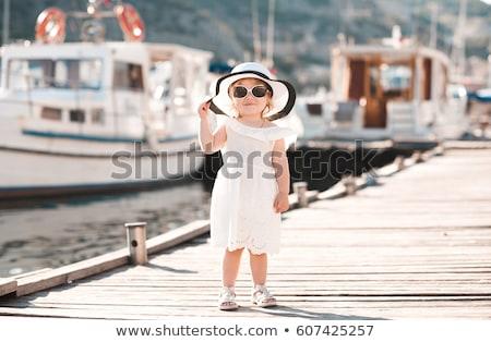 Baby Girl Fashion Stock photo © rognar