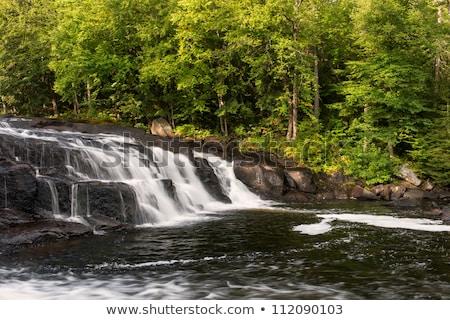 White Water in an Adirondack Stream Stock photo © Balefire9