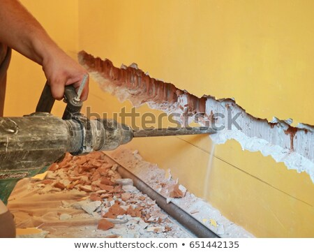 Ruins Of Apartment Building Stock photo © searagen