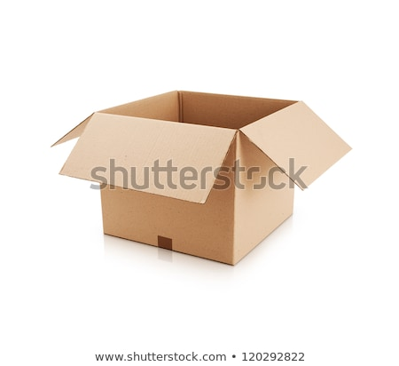 段ボール · ボックス · 白 · オフィス · 倉庫 · バランス - ストックフォト © grafvision