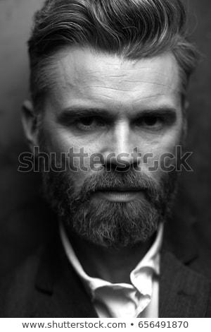 Handsome male in waistcoat Stock photo © Elmiko