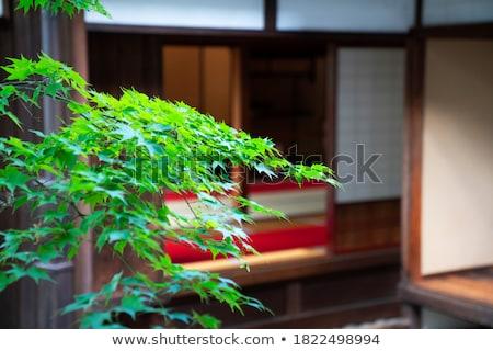 Zen stones and japanese bell Stock photo © Elenarts