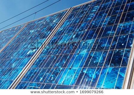 Mosaic of alternative energy sources Stock photo © photography33
