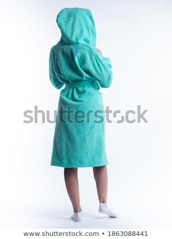 женщину одевание платье здоровья матери Spa Сток-фото © photography33