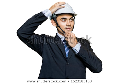 Businessman wearing a hardhat Stock photo © photography33