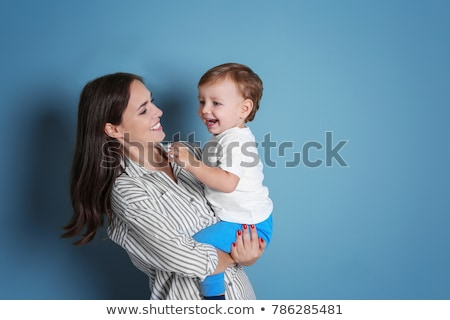 Mother and son colouring Stock photo © photography33